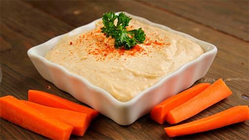 hummus de legumbres